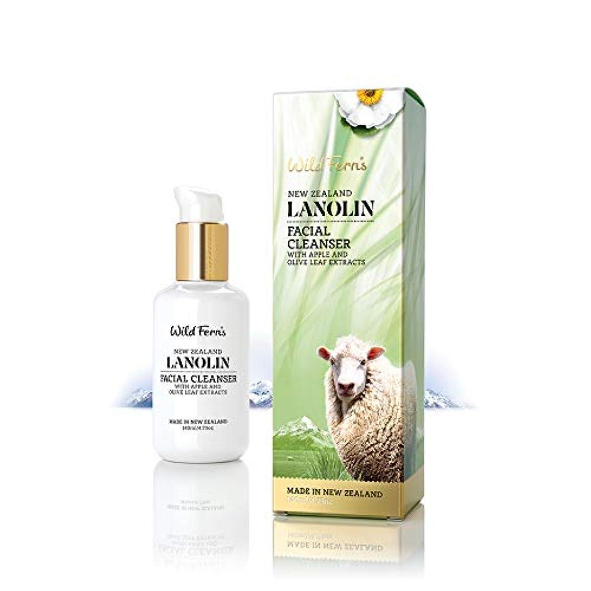 真夜中うつ治療Lanolin Facial Cleanser 140ml