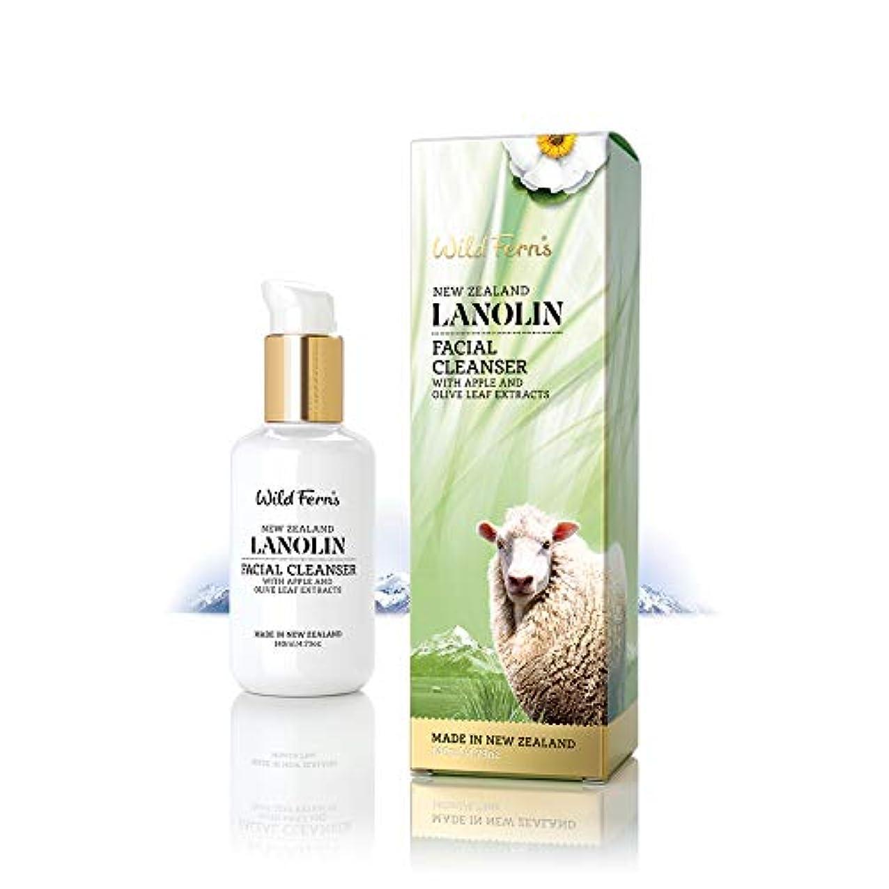 伝染性の乳素人Lanolin Facial Cleanser 140ml