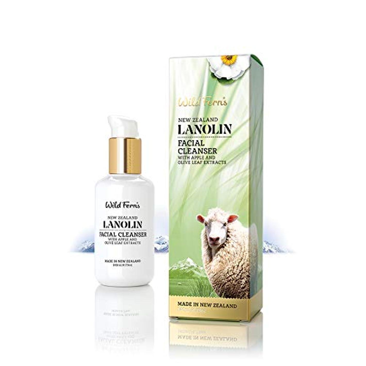 乳白色メロディー古風なLanolin Facial Cleanser 140ml