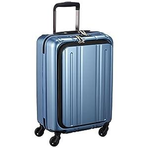 [エバウィン] 軽量スーツケース Be Light フロントオープン 機内持込可 機内持込可 30.0L 55cm 2.8kg EW31240 BLC ブルーカーボン