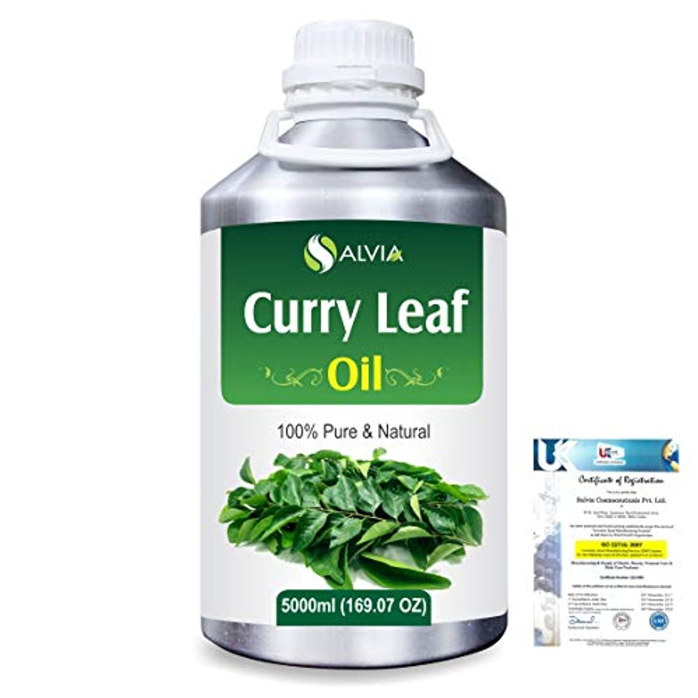 フェリー変換パキスタン人Curry Leaf (Murraya koenigz) 100% Natural Pure Essential Oil 5000ml/169fl.oz.