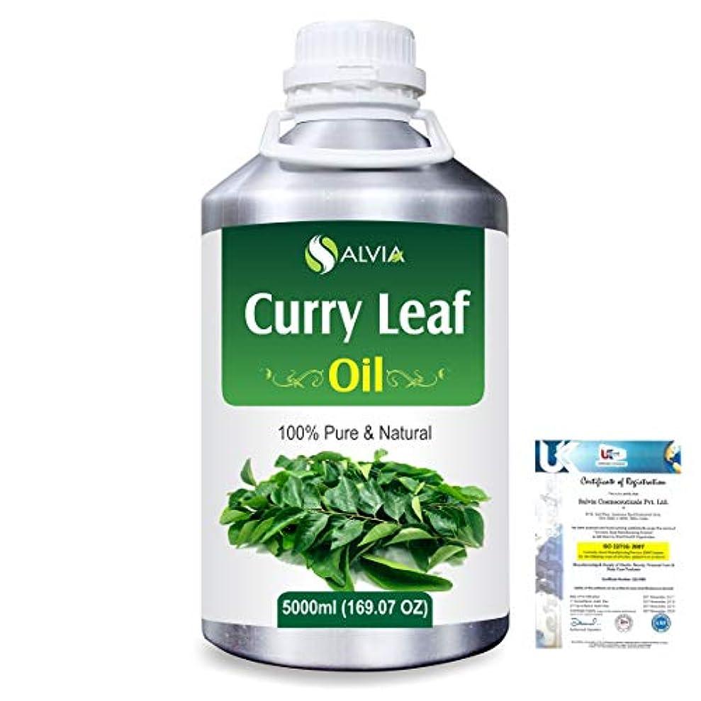 推定喜ぶ複雑でないCurry Leaf (Murraya koenigz) 100% Natural Pure Essential Oil 5000ml/169fl.oz.