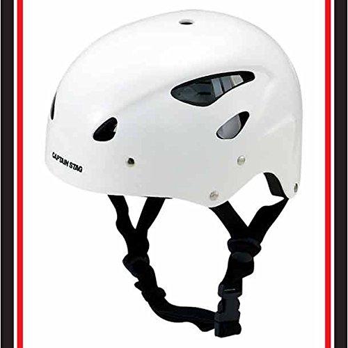 キャプテンスタッグ スポーツ ヘルメット CS ホワイトMC-3547