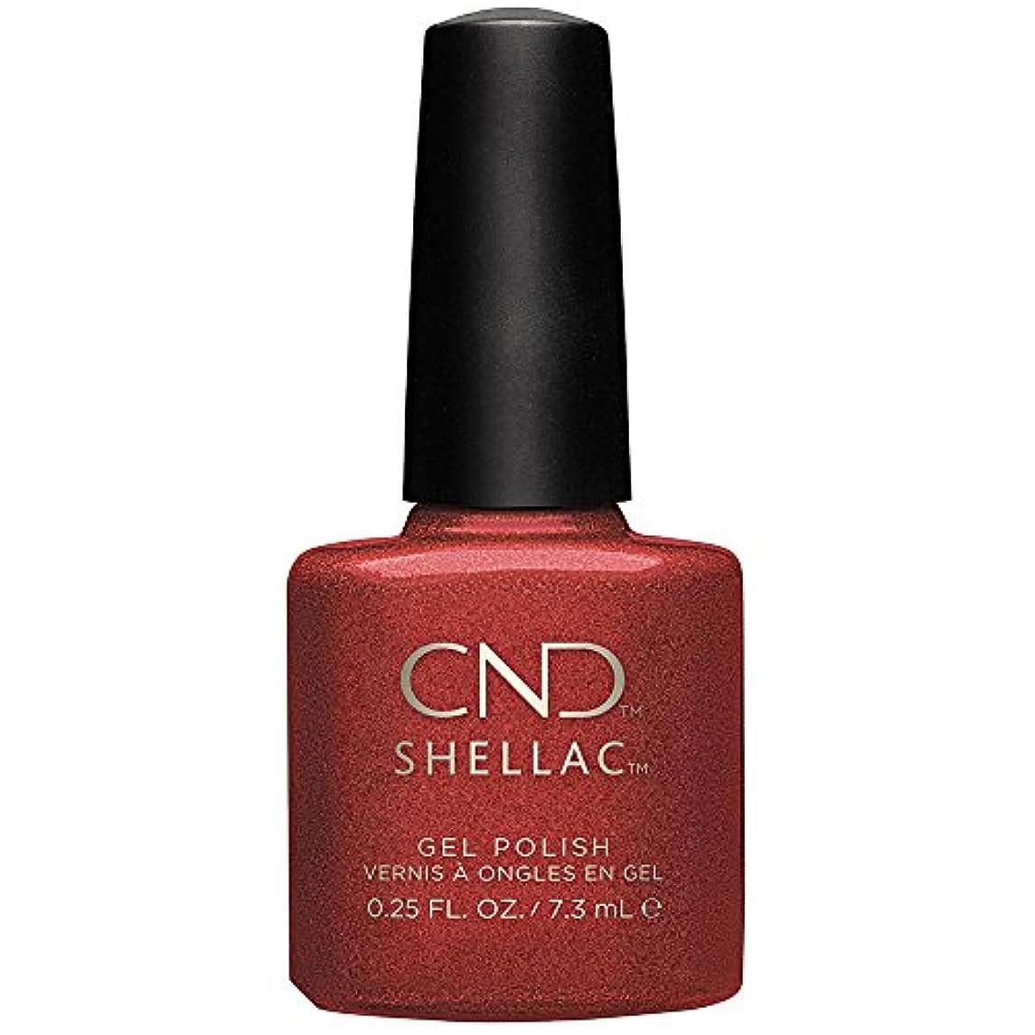 不条理ジョージエリオット牽引CND Shellac Hand Fired color coat 7.3 ml (.25 fl oz)