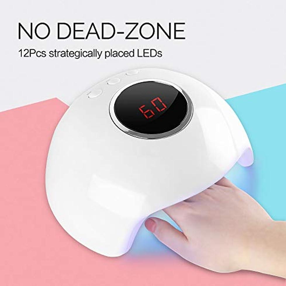 バナー条約小さなネイルUV/LEDライト 硬化用ライト タイマー設定可能 パーツ ネイルledドライヤー 24W 分かりやすい説明書付き