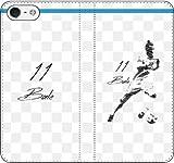 iPhone/Xperia/Galaxy/他機種選択可:携帯ケース/手帳型/サッカー/グラフィティ手帳ケース(デザイン:マドリッド/11番_02) 09 iPhone X