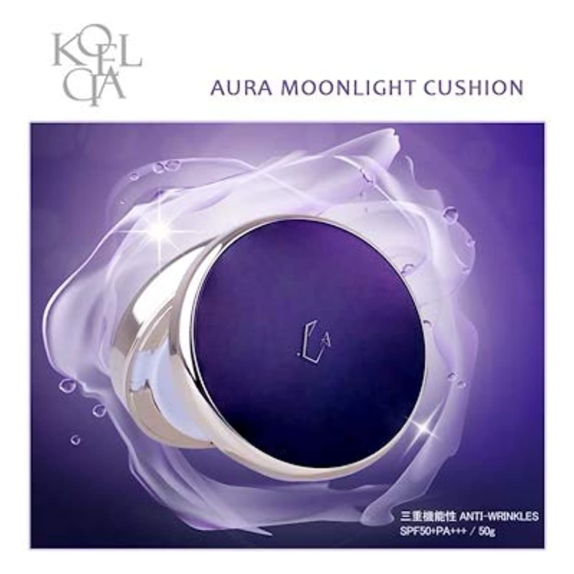 祖母静的望遠鏡KOELCIA Aura Moonlight Cushion 14g No.21(Light Beige) クッション 三重機能性Anti-Wrinkles(SPF50+PA+++ / 14g)完全新商品!!/Korea...