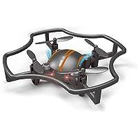 Springdoit インテリジェント4軸飛行機無人機ミニ4CH 6軸USB無人機おもちゃギフト(ブラックオレンジ)