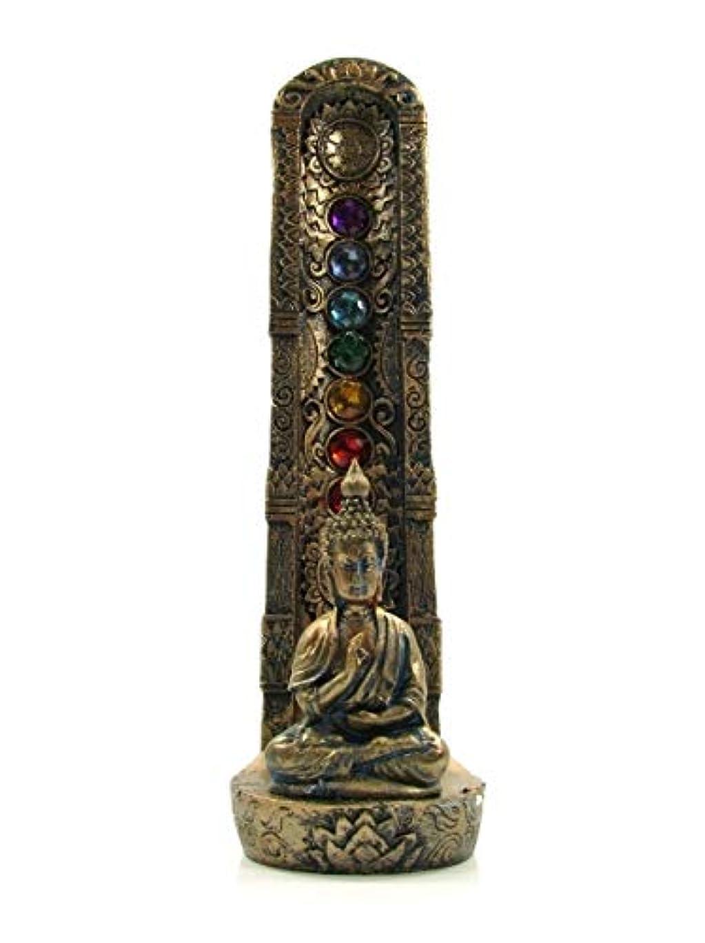穴やがてペストリー[INCENSE GOODS(インセンスグッズ)] STANDING CHAKRA BUDDHA INCENSE BURNER