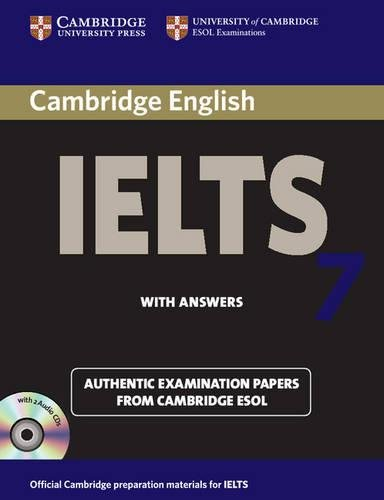 Cambridge IELTS 7 Self-study Pack (Student's Book with Answers and Audio CDs (2)): Examination Papers from University of Cambridge ESOL Examinations (IELTS Practice Tests)の詳細を見る