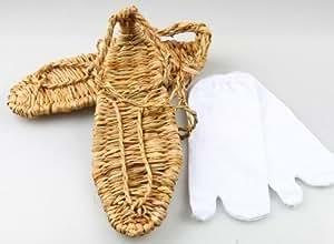 ブリーチ BLEACH 草鞋&足袋セット LLサイズ (26~27cm) 大きめ 男性サイズ コスプレ 草履LL