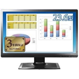 アイ・オー・データ機器 ブルーライト低減機能付き HDMI端子搭載 23.6型ワイド液晶ディスプレイ ブラック LCD-MF243EBR