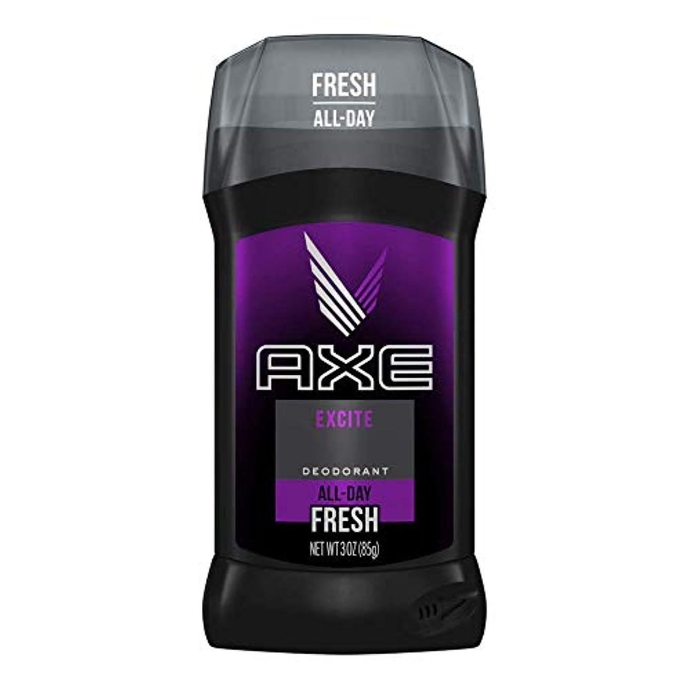 積極的にわずらわしい目的AXE Excite Deodorant Stick 3 oz 2 pack [並行輸入品]
