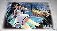 夏コミケ72/CUFFS「アメサラサ」クリアポスター(雨上がり)