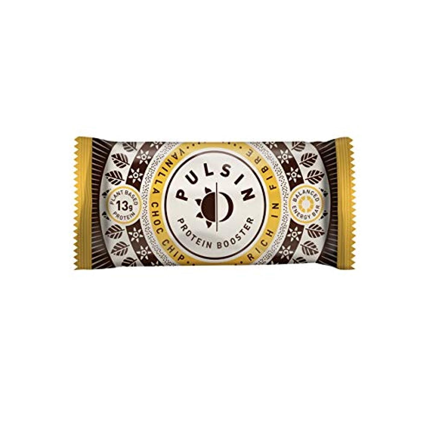 警戒年次剥ぎ取るバニラ チョコチップ プロテイン スナック 50g【18個セット】