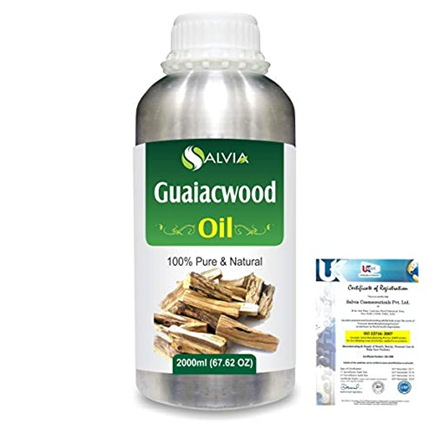 擬人化キラウエア山好ましいGuaiacwood (Bulnesia sarmientoi) 100% Pure Natural Essential Oil 2000ml/67 fl.oz.