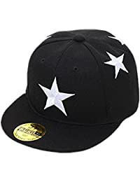 Ungfu Mall キャップ キッズ 野球帽 調整可能 少年少女 カジュアル 帽子 かわいい オールシーズン適用 子供用