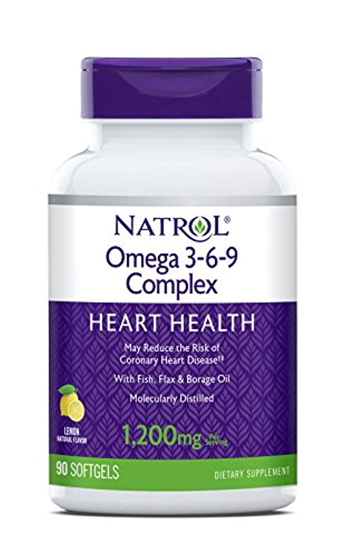 議会拒絶する起きる海外直送品 Natrol (incl Laci Le Beau Teas) Omega 3-6-9 Complex, 90 Softgels