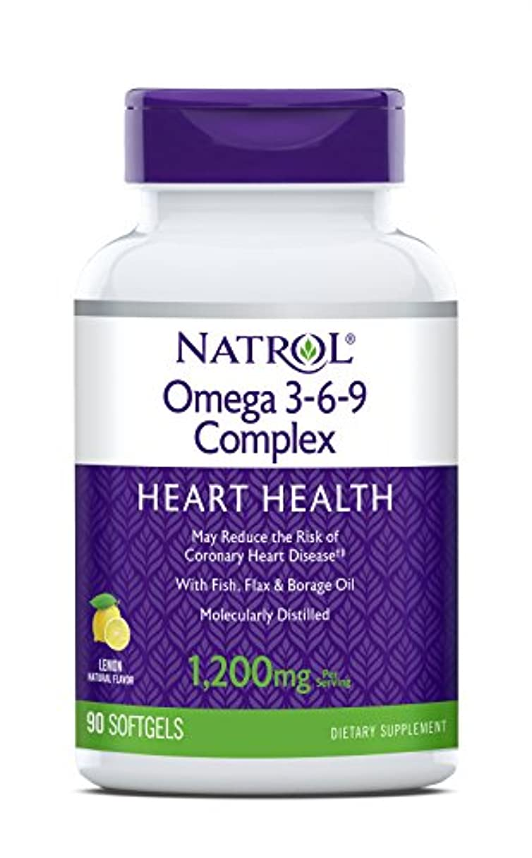 女王九時四十五分大混乱海外直送品 Natrol (incl Laci Le Beau Teas) Omega 3-6-9 Complex, 90 Softgels