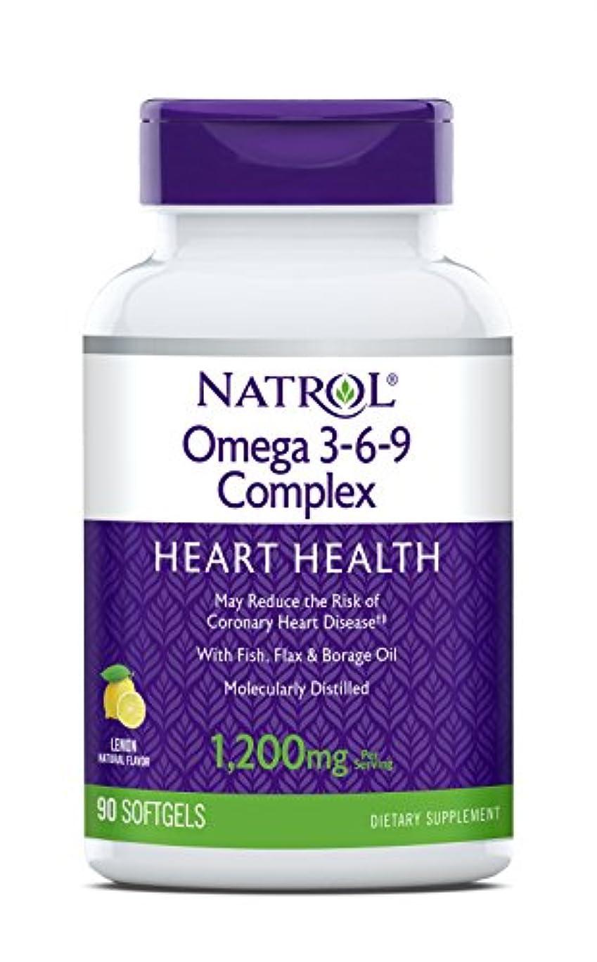 勤勉モネ二年生海外直送品 Natrol (incl Laci Le Beau Teas) Omega 3-6-9 Complex, 90 Softgels
