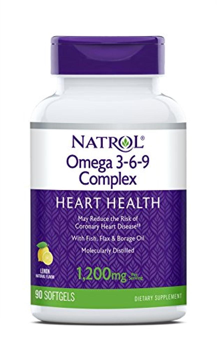 痴漢私達早熟海外直送品 Natrol (incl Laci Le Beau Teas) Omega 3-6-9 Complex, 90 Softgels