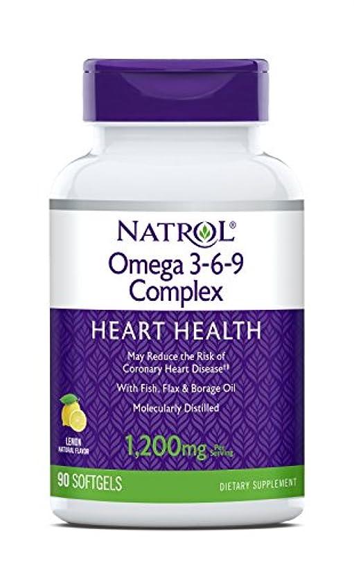 傾向がある航空について海外直送品 Natrol (incl Laci Le Beau Teas) Omega 3-6-9 Complex, 90 Softgels