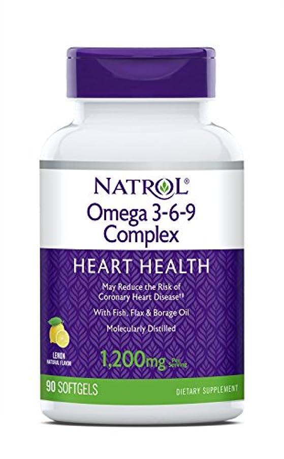 うがい薬作成者飛ぶ海外直送品 Natrol (incl Laci Le Beau Teas) Omega 3-6-9 Complex, 90 Softgels