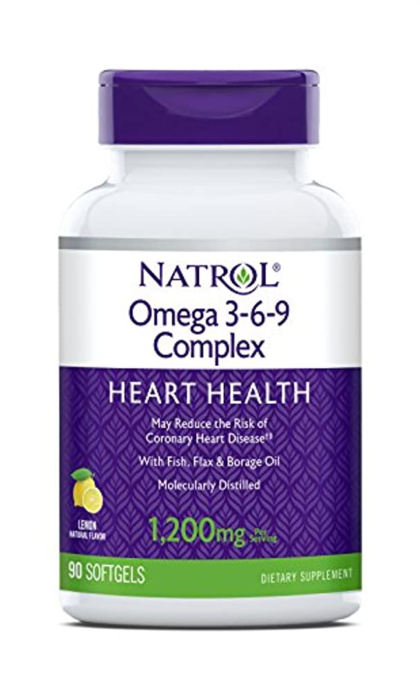 材料冷淡な大海外直送品 Natrol (incl Laci Le Beau Teas) Omega 3-6-9 Complex, 90 Softgels