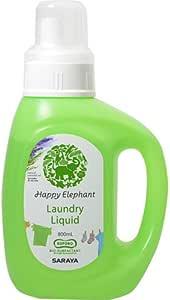 ハッピーエレファント 液体 洗たく用洗剤 800ml
