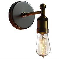 BXJ 鉄ヴィンテージ銅ランプリビングルームベッドサイドレストラン産業風ウォールランプウォールランプ