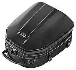 タナックス(TANAX) MOTOFIZZ バイクシートバック  シェルシートバックGT ブラック [容量14-18ℓ] MFK-240