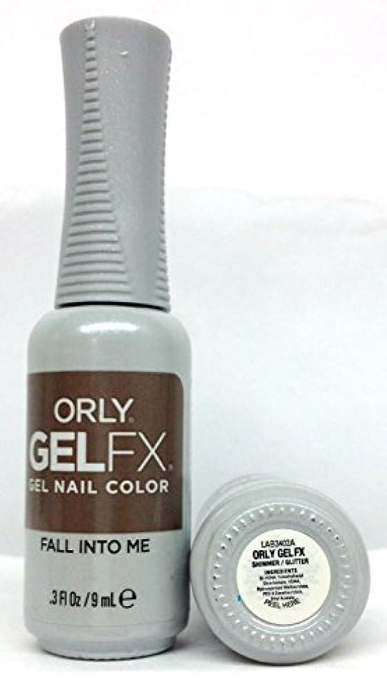 自伝センブランスパウダーORLY GelFX - The New Neutral Collection - Fall Into Me - 9 ml / 0.3 oz