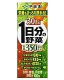 伊藤園 1日分の野菜 紙パック 200ml x 72個