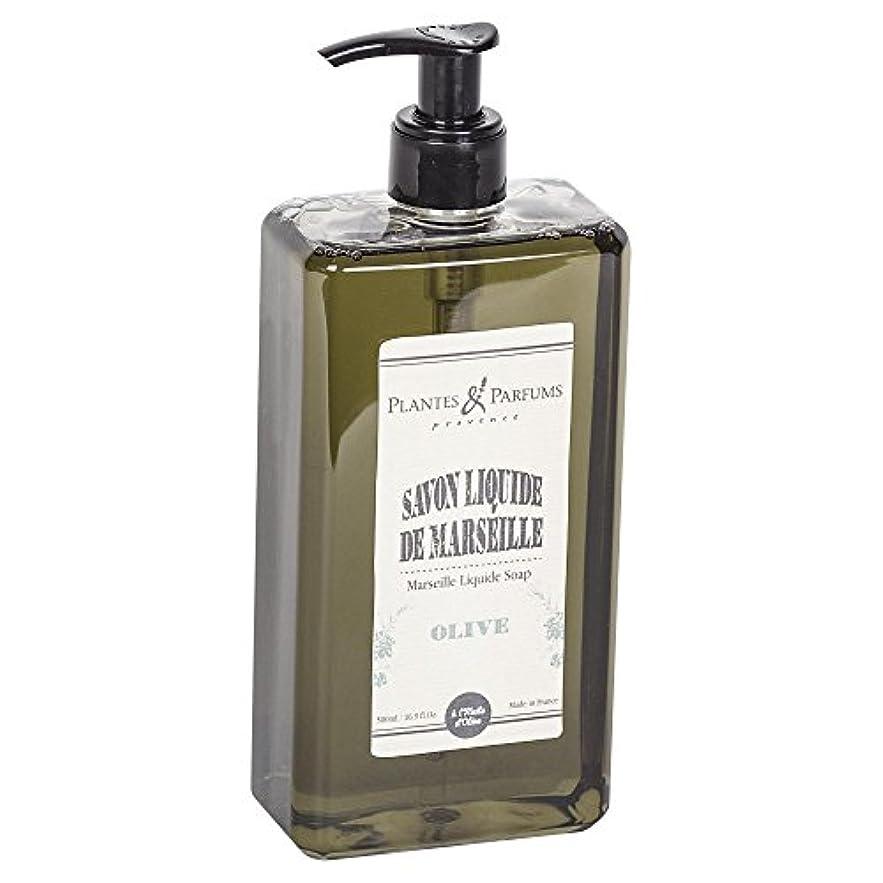 リード失望圧縮されたPlantes&Parfums [プランツ&パルファム] マルセイユリキッドソープ オリーブ