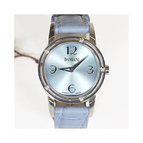 DAMIANI ダミアーニ 30001814 D・SIDE シリーズ クォーツ 腕時計 アリゲーター/ライトブルー[並行輸入品]