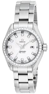 [オメガ]OMEGA 腕時計 シーマスター アクアテラ ホワイトパール文字盤 ダイヤ 231.15.30.61.55.001 レディース 【並行輸入品】