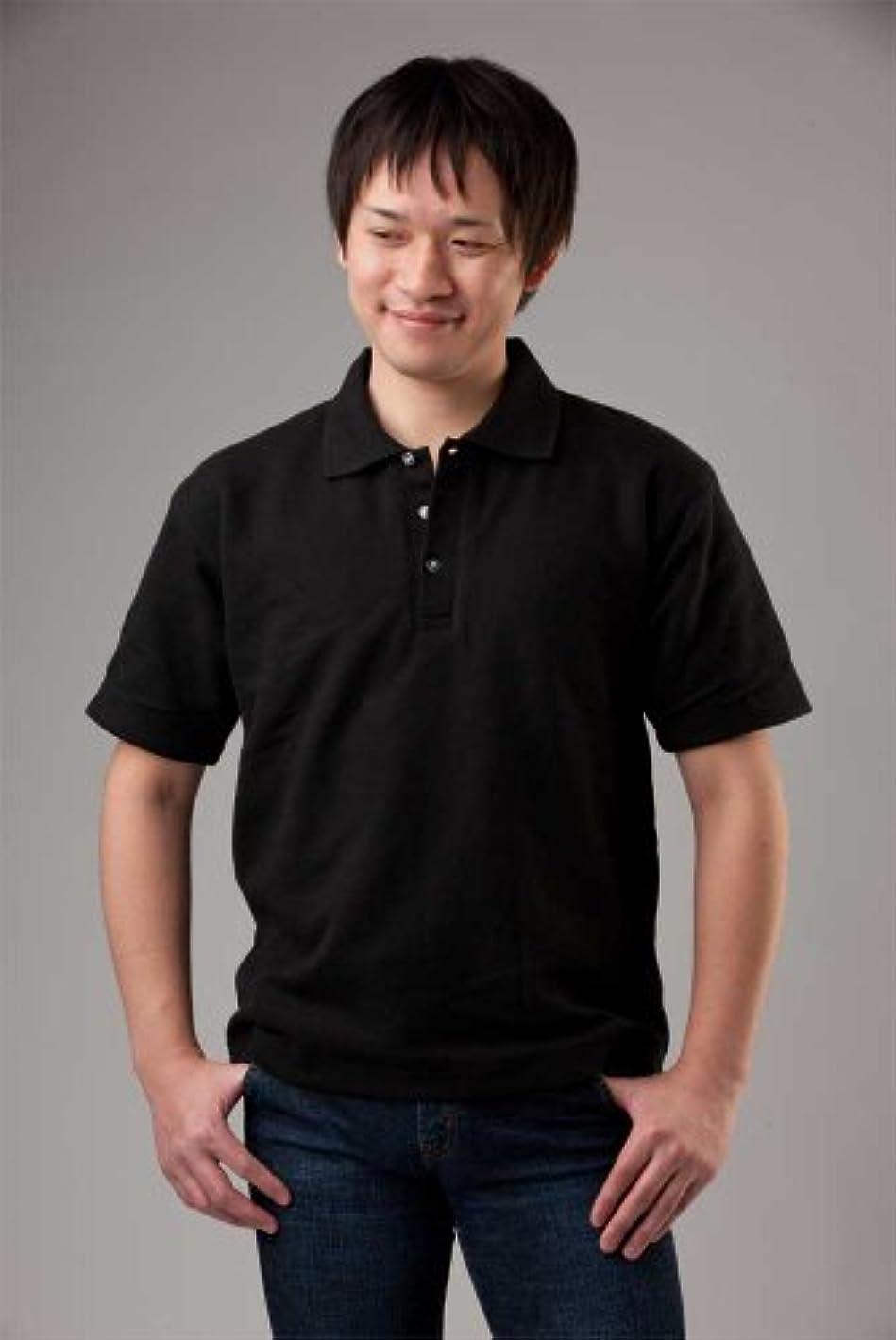 視力盗難とにかく防刃スペクトラポロシャツ ブラック XLサイズ