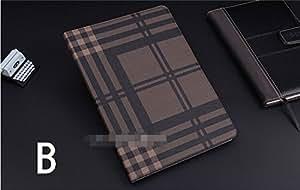 ipad mini4 ケース ipad mini4 カバー アイパッドミニ4 ケース 手帳型 オートスリープ機能付き カード収納あり チェック柄 B