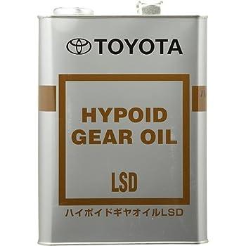純正トヨタ ハイポイドギヤオイルLSD GL-5 85W-90 08885-00305 入数:4L×1缶 08885-00305