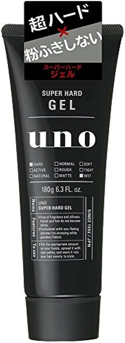 蒸留するスピーカー範囲ウーノ スーパーハードジェル 180g×6