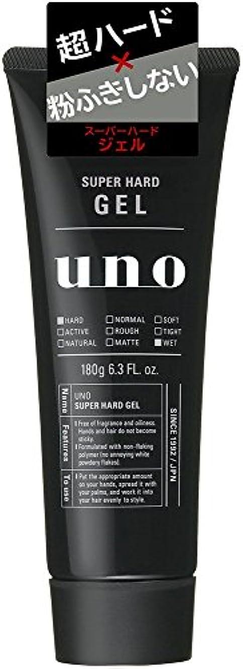 ウーノ スーパーハードジェル 180g×10