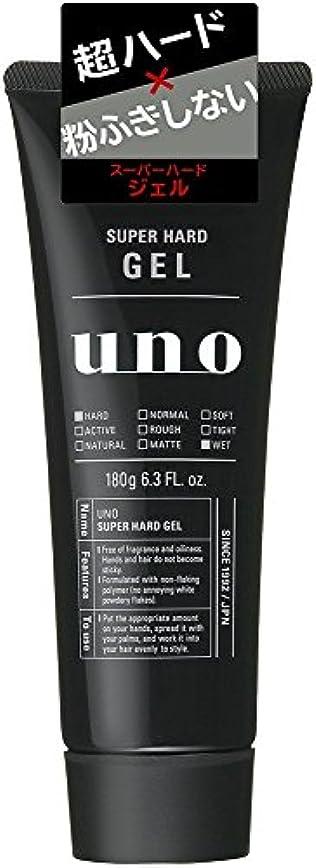 ウーノ スーパーハードジェル 180g×6