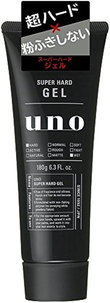 ウーノ スーパーハードジェル 180g×4