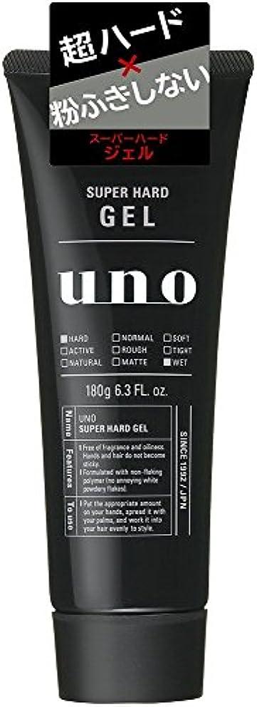 肌関与するそれによってウーノ スーパーハードジェル 180g×7