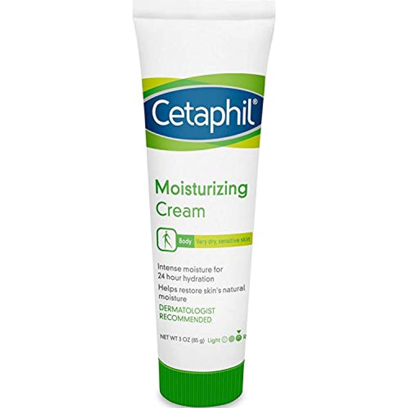 気性トレード呪いCetaphil Moisturizing Cream for Dry Sensitve Skin Fragrance Free 90 ml