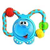 CHICCO ファンティーシングラトル-エレファント (Fun Teething Rattle-Elephant) 00 061411 000 000