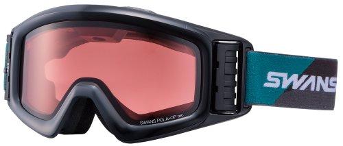 SWANS(スワンズ) 偏光レンズ HELI-PDTBS-N BK/G(379) フリー