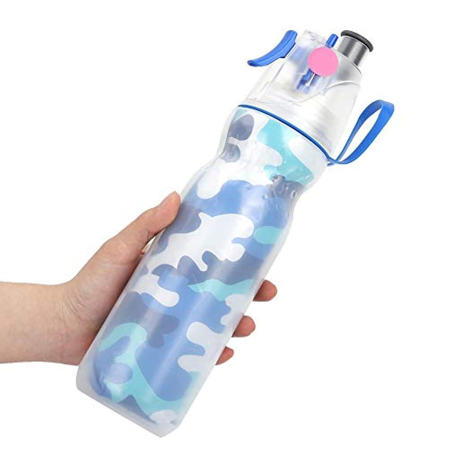 濃度馬鹿デクリメント霧の水差し スプレーウォーターボトル ミストウォーターボトル 二重層デザイン 大容量 水貯蔵 お風呂/出張/旅行/海外に適用 2色