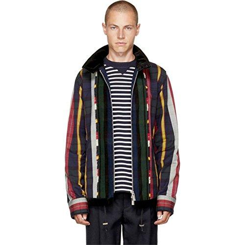 (サカイ) Sacai メンズ アウター ジャケット Multicolor Check & Striped Jacket 並行輸入品