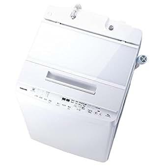 東芝 10.0kg全自動洗濯機 エディオンオリジナル グランホワイト AW-10SDE6(W)